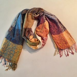 TOUS original multicolor Kaos scarf